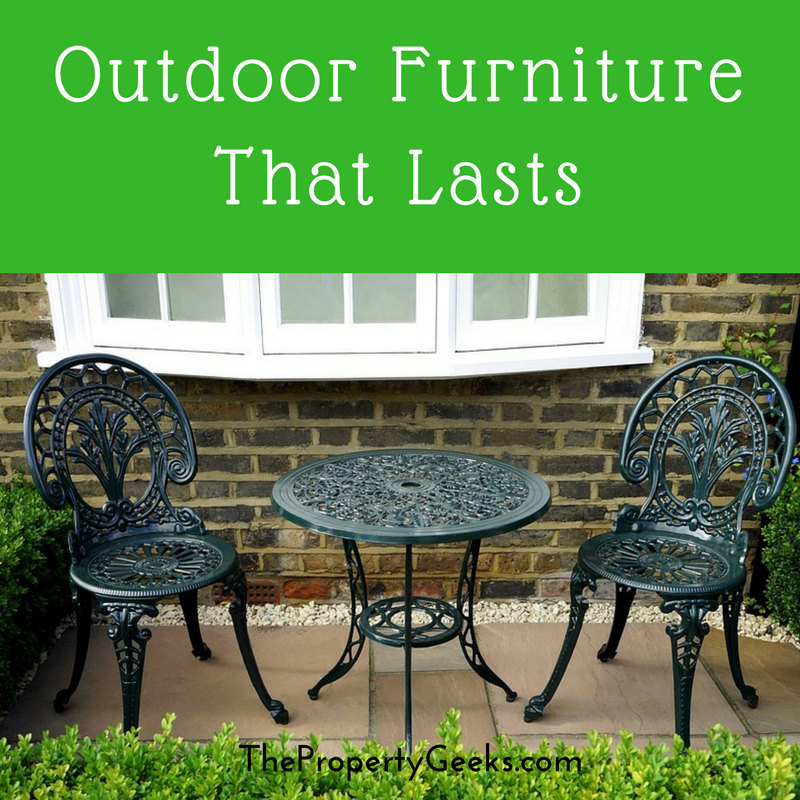 5 Types Of Outdoor Furniture That Lasts The Property Geeks