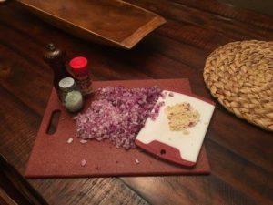 Zuppa Toscana - onion & garlic